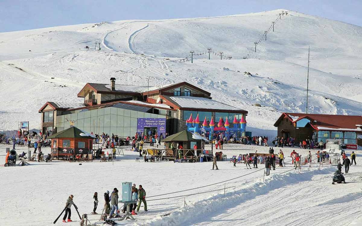 Σκι στο όρος Βόρρας